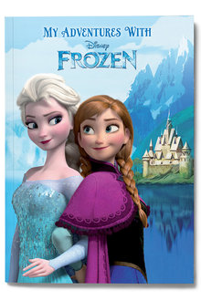Personalised My Adventures with Disney Frozen Book - 256741