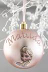 Personalised Elsa Frozen Christmas Bauble