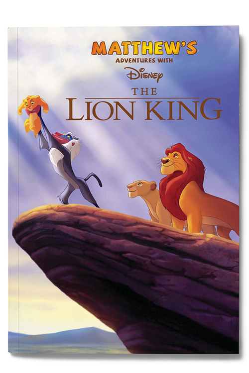 Personalised My Adventures with the Lion King Book