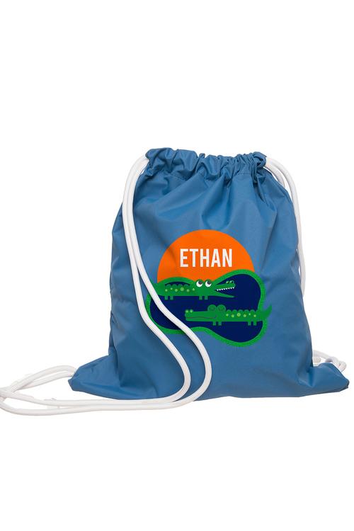Personalised Crocodile Wet Bag