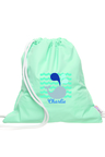 Personalised Whale Wet Bag