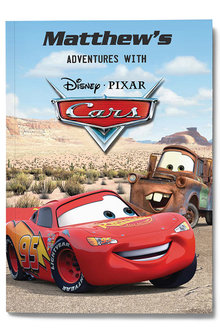 Personalised My Adventures with Cars Book - 256754