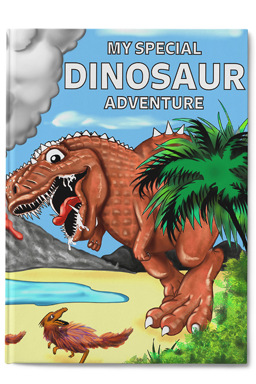 Personalised My Special Dinosaur Adventure Book