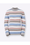 Euro Edit Striped Pullover