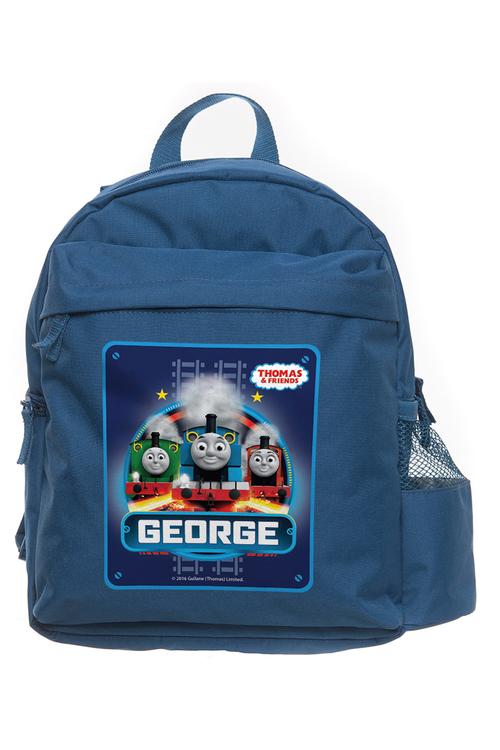 Personalised Thomas the Tank Engine Racing Medium Backpack