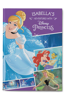 Personalised My Adventures with Disney Princess Collection Book - 256782