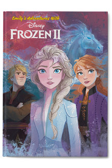 Personalised My Adventures with Frozen II Book - 256784