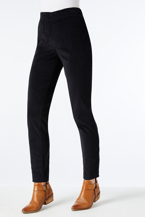 Capture Velveteen Stretch Pull On Pant
