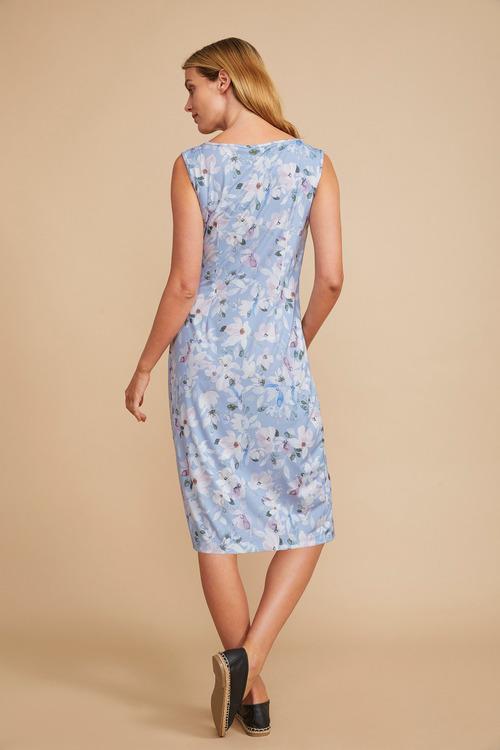 Capture Gather Detail Knit Dress
