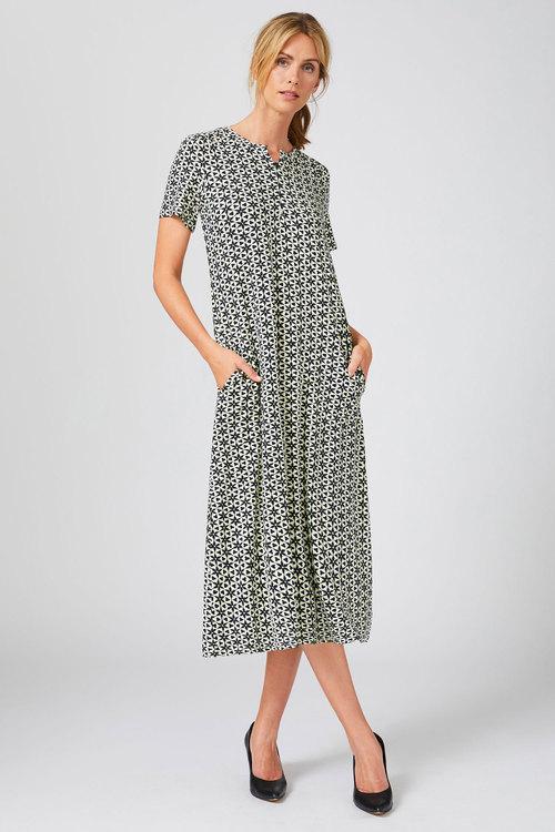 Capture Knit Midi Dress