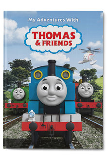 Personalised My Adventures with Thomas & Friends - 256809