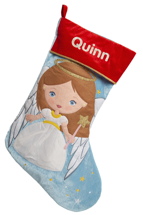 Personalised Angel Stocking