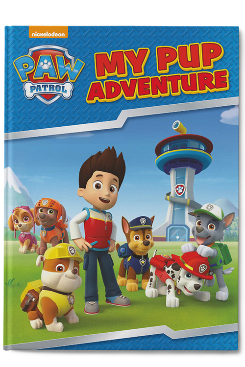 Personalised My Pup Adventure Book
