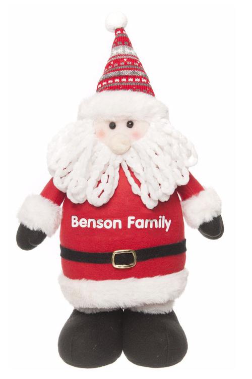 Personalised Standing Santa