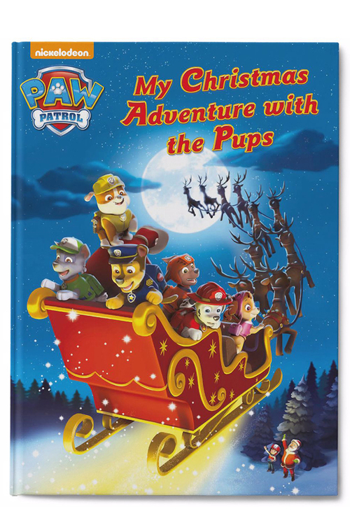 Personalised My Christmas Adventure with the Pups Book