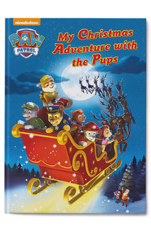 Personalised My Christmas Adventure with the Pups Book - 256814