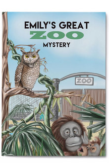 Personalised My Great Zoo Mystery Book - 256816
