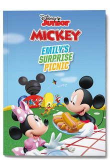 Personalised Mickey Mouse Surprise Picnic Book - 256819