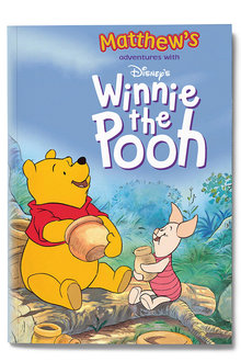 Personalised My Adventures with Winnie the Pooh Book - 256821