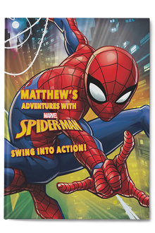 Personalised My Adventures with Spider-Man Book - 256822
