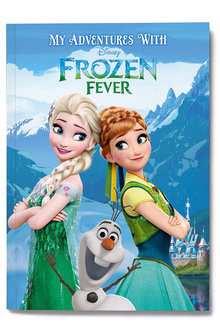 Personalised My Adventures with Disney Frozen Fever Book - 256823