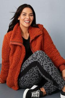 Sara Sherpa Jacket - 256837