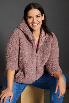 Sara Sherpa Hoody - 256838