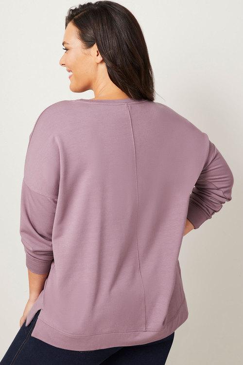 Sara Round Neck Sweatshirt
