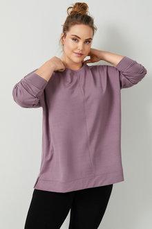 Sara Round Neck Sweatshirt - 256841