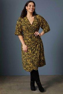 Sara Cross Over Dress - 256854