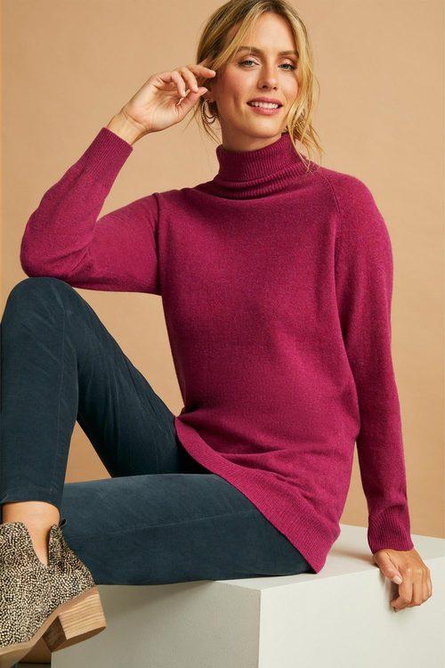 Capture Lambswool Cowl Neck Sweater