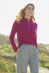 Capture Lambswool Half Zip Sweater