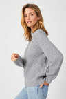 Capture Cable Knit Sweater