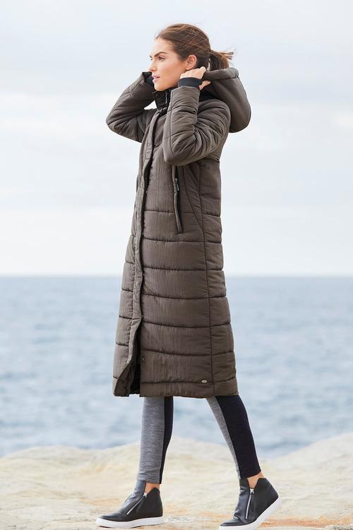 Isobar Longline Maxi Jacket