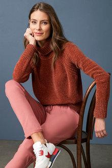 Capture Chenille Roll Neck Sweater - 256910