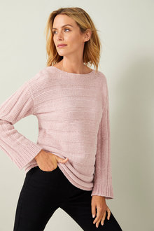 Capture Chenille Ribbed Sweater - 256911