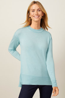 Capture Merino Classic Crew Sweater - 256914