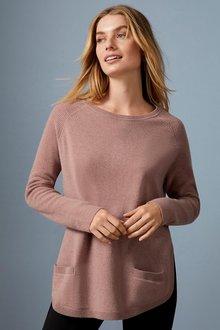 Capture Lambswool Pocket Sweater - 256931