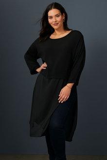Sara Spliced Tunic - 256945