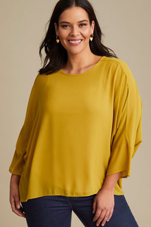Sara Hi-Low Shell Top - 256951