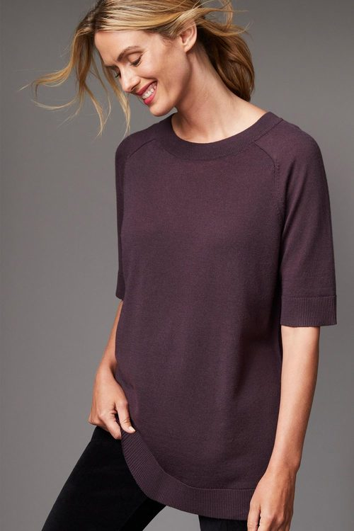 Capture Merino Short Sleeved Sweater