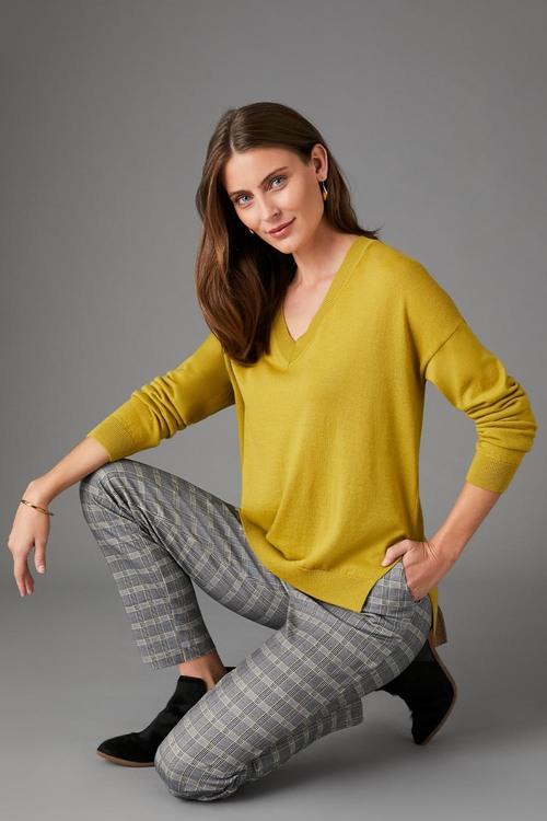 Capture Merino V Neck Sweater