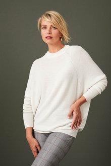 Capture Merino Dolman Sleeve Sweater - 256964