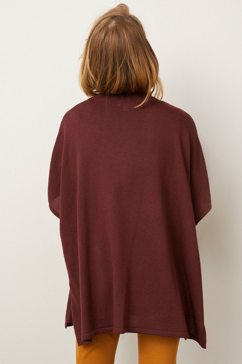 Capture Merino Poncho Top