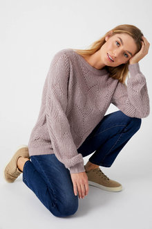 Capture Patterned Sweater - 256990