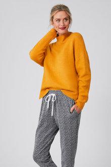 Capture Lofty Funnel Neck Sweater - 256991