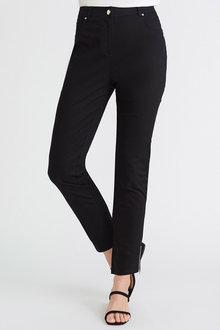 European Collection Zip Hem Pants - 256996