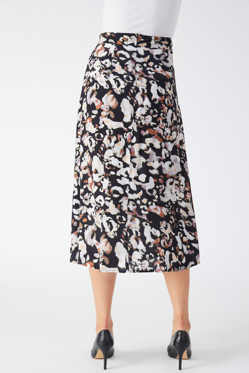 Grace Hill Printed A Line Skirt