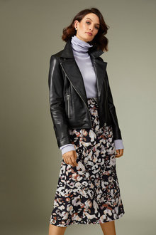 Grace Hill Printed A Line Skirt - 257001