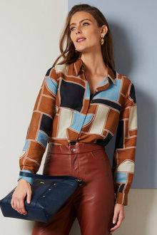 Grace Hill Silk Blend Shirt - 257011
